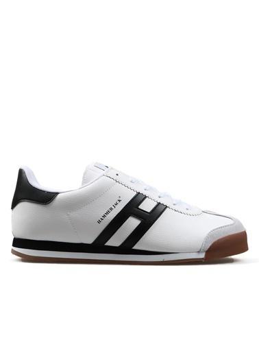Hammer Jack 101 20014 Beyaz-Siyah Erkek Spor Ayakkabı Renkli